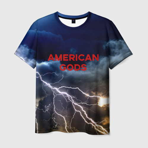 Мужская футболка 3D American Gods