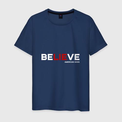 Мужская футболка хлопок American Gods (Believe)