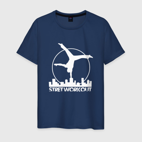 Мужская футболка хлопок Stret WorkOut