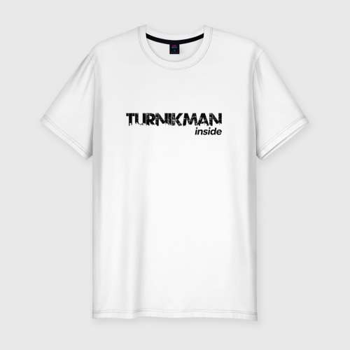 Мужская футболка хлопок Slim Turnikman inside