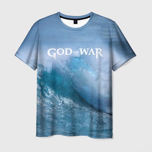 Мужская футболка 3D God of WAR