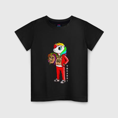 Детская футболка хлопок Tekashi