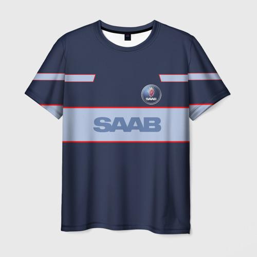 Мужская футболка 3D Saab