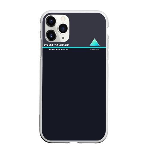 Чехол для iPhone 11 Pro Max матовый Detroit AX400