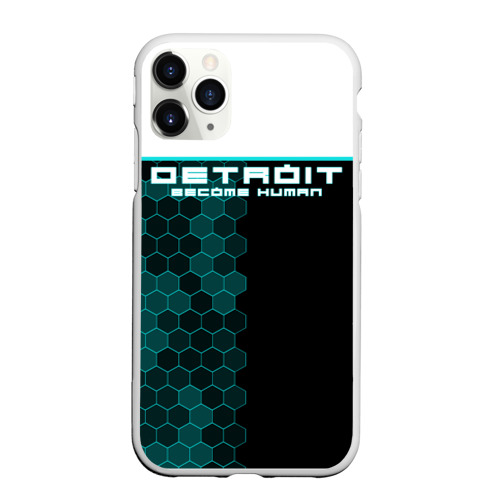 Чехол для iPhone 11 Pro Max матовый Detroit become human