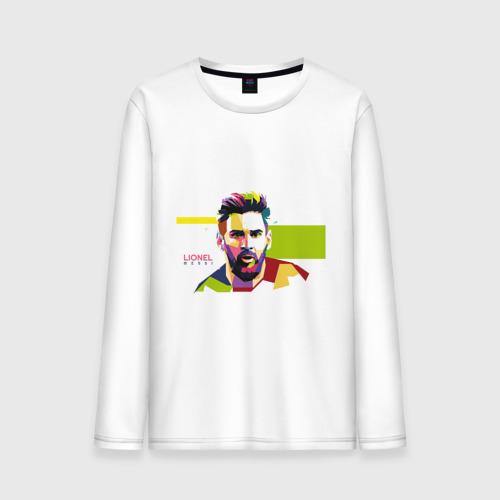 Мужской лонгслив хлопок Lionel Messi