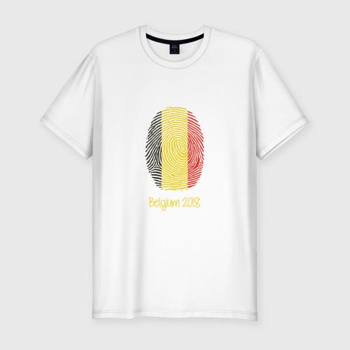 Мужская футболка хлопок Slim Бельгия