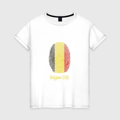 Женская футболка хлопок Бельгия