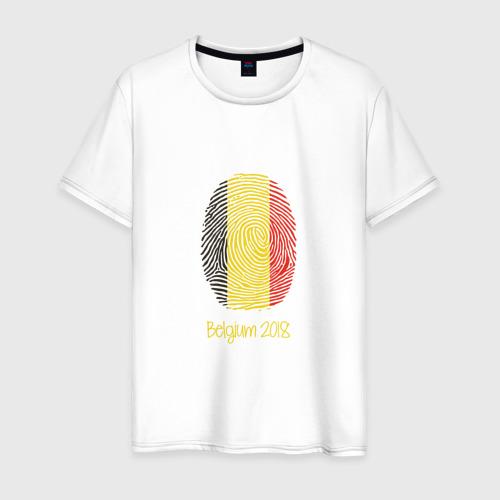 Мужская футболка хлопок Бельгия