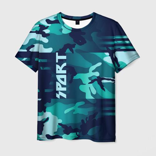 Мужская футболка 3D Sport