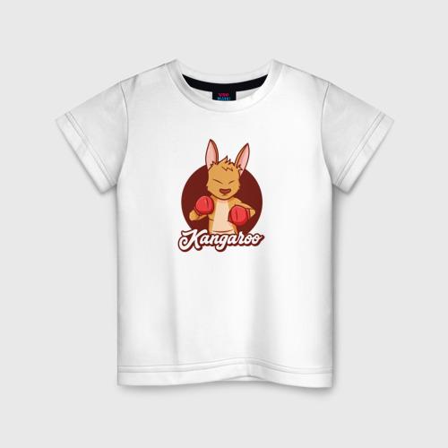 Детская футболка хлопок Кенгуру Боксер