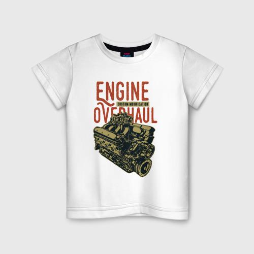 Детская футболка хлопок Мотор