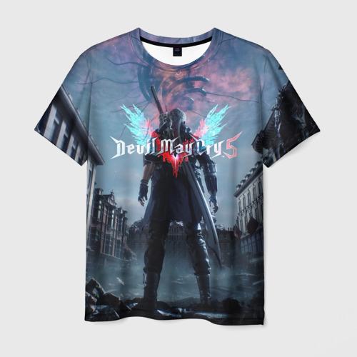 Мужская футболка 3D DEVIL MAY CRY 5