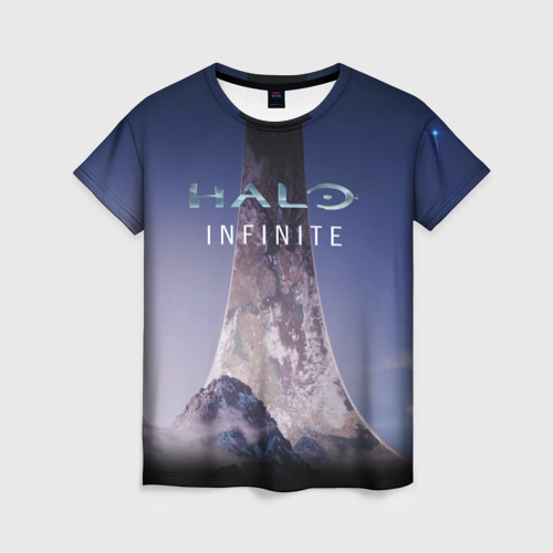 Женская футболка 3D HALO INFINITE