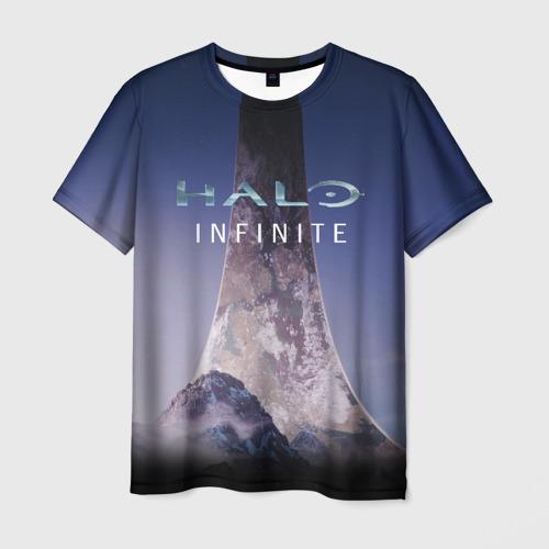 Мужская футболка 3D HALO INFINITE