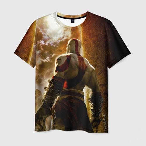 Мужская футболка 3D Генерал Кратос