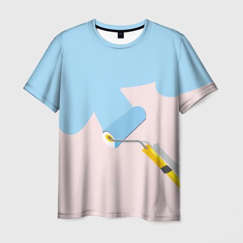 Мужская футболка 3D Больше красок