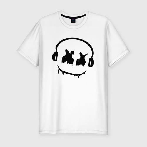 Мужская футболка хлопок Slim Music