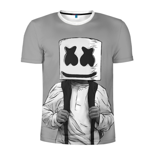 Мужская футболка 3D спортивная Electronic music