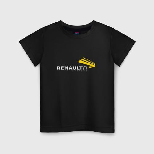 Детская футболка хлопок renault