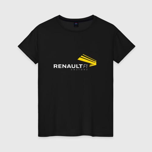 Женская футболка хлопок renault