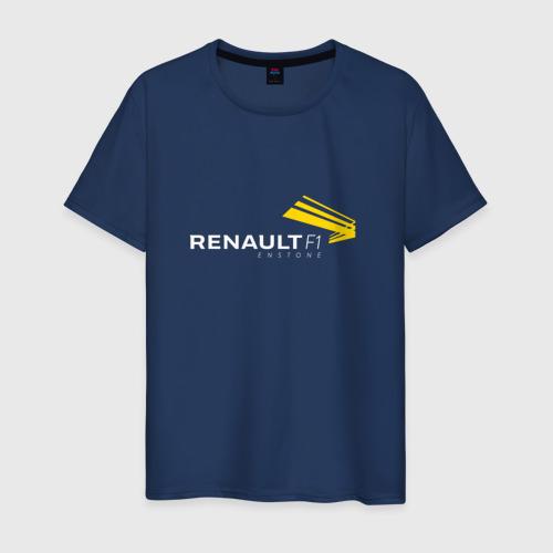 Мужская футболка хлопок renault