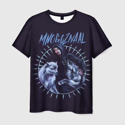 Мужская футболка 3D Mnogoznaal