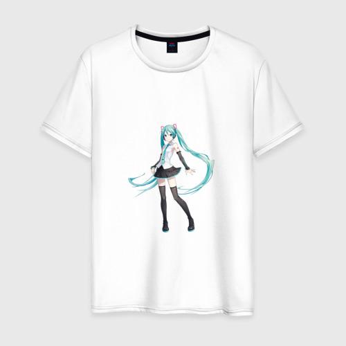 Мужская футболка хлопок Hatsune Miku стоит