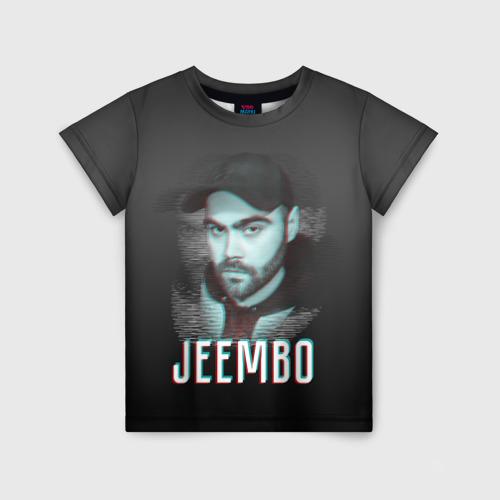 Детская футболка 3D Jeembo glitch