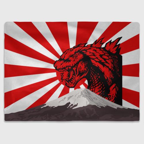 Плед 3D  GODZILLA JAPAN   ГОДЗИЛЛА ЯПОНИЯ