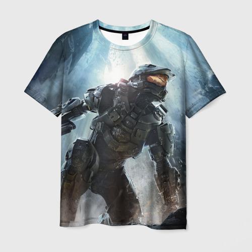Мужская футболка 3D Halo