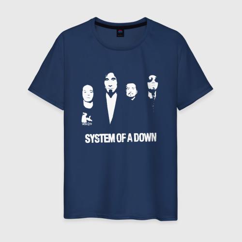 Мужская футболка хлопок System of a Down