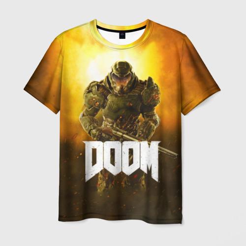 Мужская футболка 3D DOOM 2016