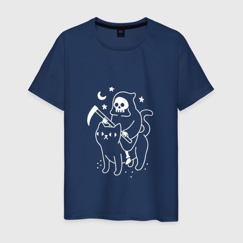 Мужская футболка хлопок CAT GOT YOUR SOUL