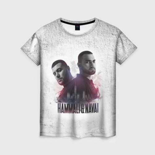 Женская футболка 3D HammAli&Navai