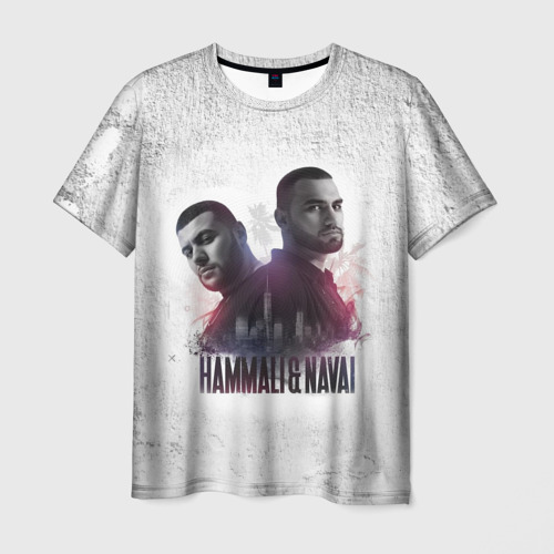 Мужская футболка 3D HammAli&Navai