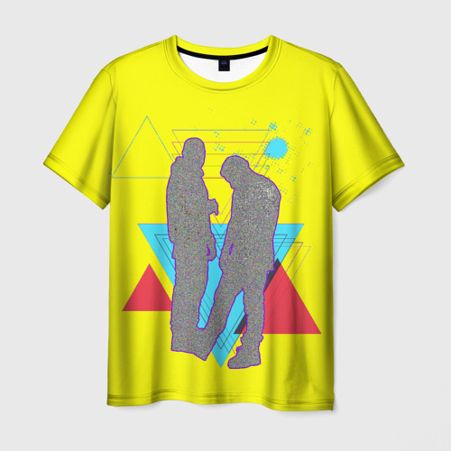 Мужская футболка 3D HammAli Navai  РЭПЕРЫ