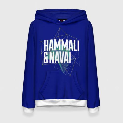 Женская толстовка 3D HammAli Navai blue
