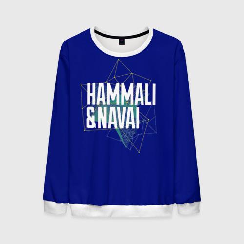 Мужской свитшот 3D HammAli Navai blue