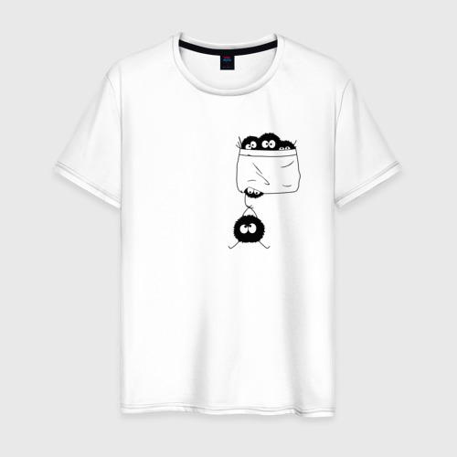 Мужская футболка хлопок Странствующая сажа