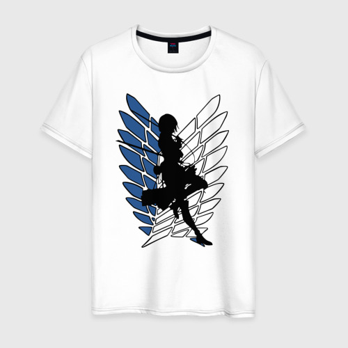 Мужская футболка хлопок Mikasa