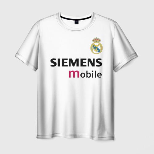 Мужская футболка 3D Бекхэм Реал Ретро