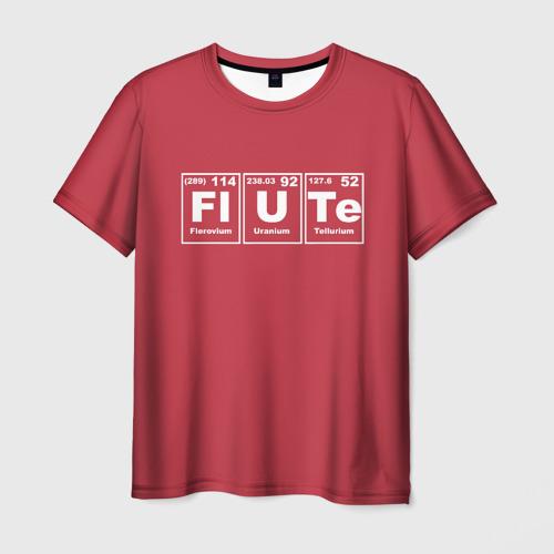 Мужская футболка 3D FLUTE