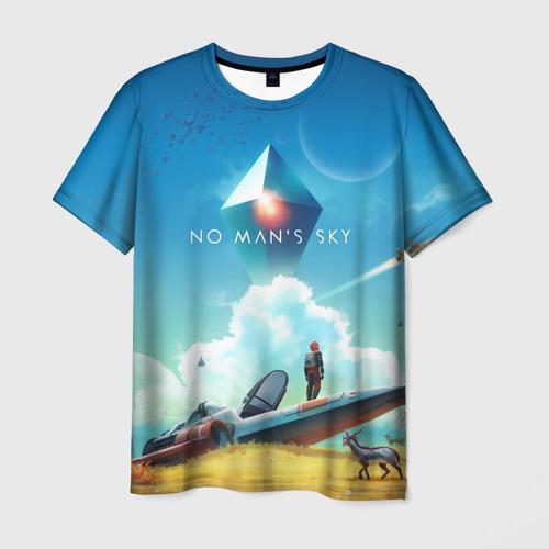 Мужская футболка 3D No Man's Sky - Atlas Rises