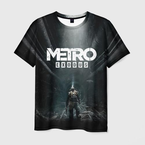 Мужская футболка 3D METRO EXODUS | МЕТРО ИСХОД АРТЁМ