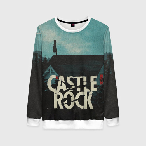 Женский свитшот 3D Castle Rock