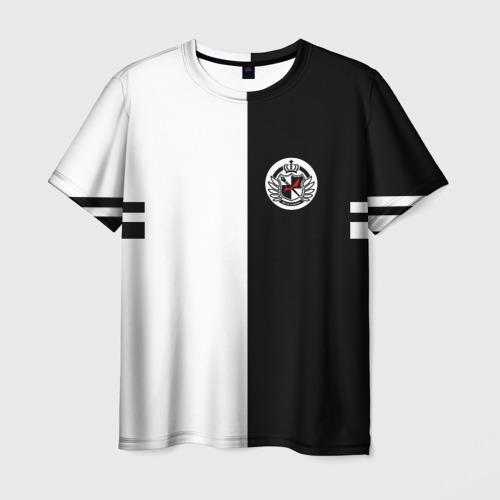 Мужская футболка 3D MONOKUMA SCHOOL   МОНОКУМА ШКОЛА