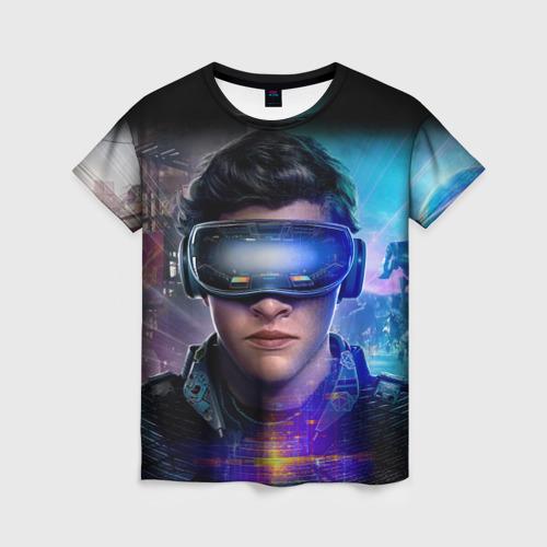 Женская футболка 3D Ready Player One (PRO) [2]