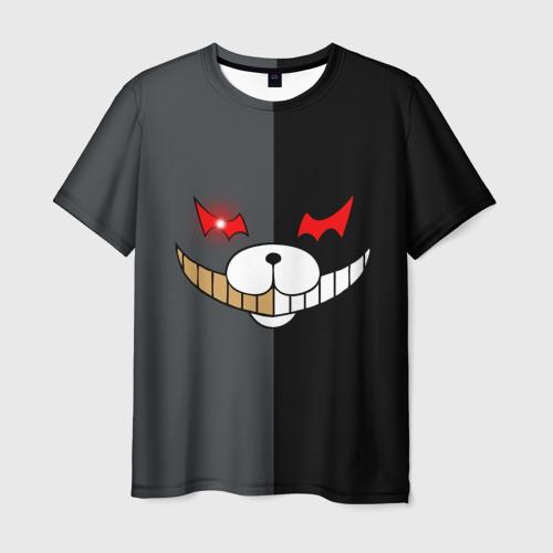 Мужская футболка 3D KUROKUMA x MONOKUMA