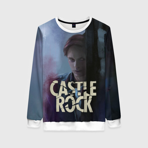 Женский свитшот 3D Castle Rock - shawshank prisoner